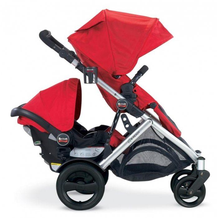 Britax B Agile Double Stroller Travel System