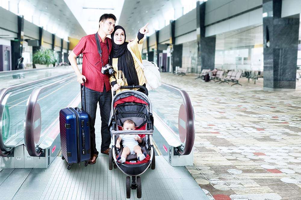 Airline Travel With A Stroller What Should I Know