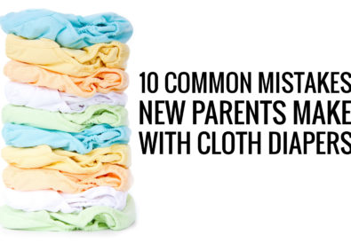 10 common mistakes new parents make with cloth diapers