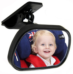 car mirror for no headrest