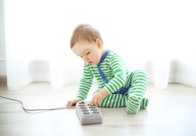 How to Baby-Proof Electrical Outlets and Cords