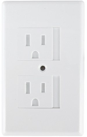 How to baby proof electrical outlets cords like an expert sliding outlet cover sciox Choice Image