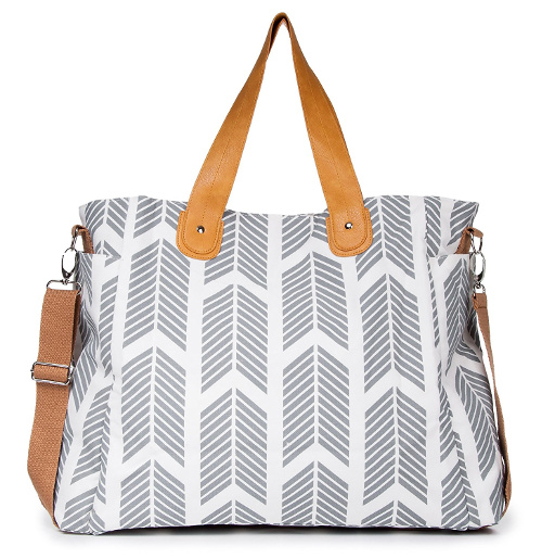 White Elm Arrows Weekender Bag