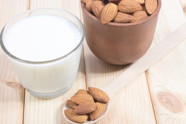 When can babies have almond milk?