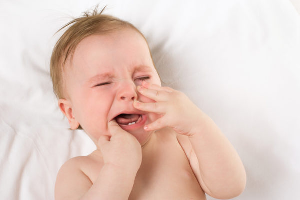 teething rash