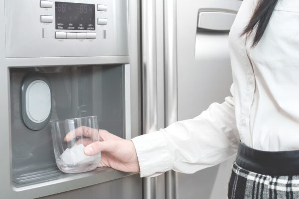 woman craving ice