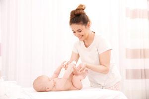 baby skin peeling